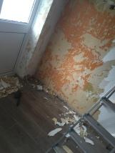 Tiles down, wallpaper off
